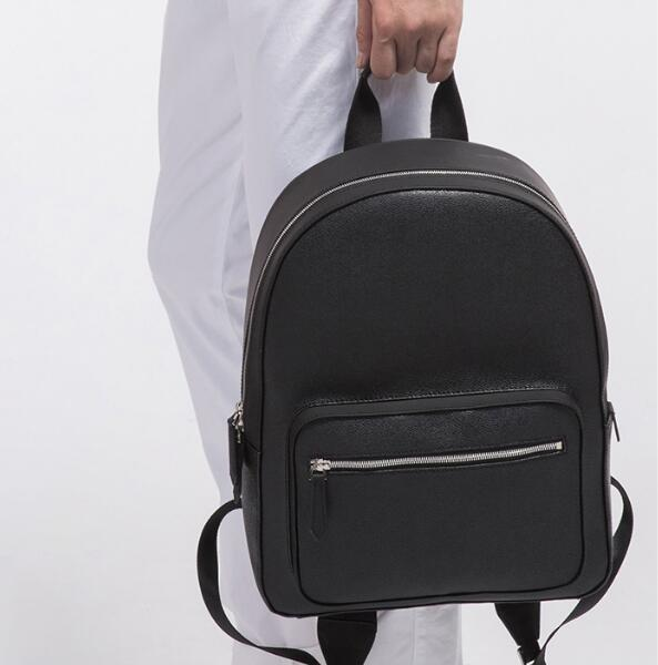 Mode hohe qualität neue mode berühmte marke rucksäcke schwarz braun frauen männer taschen weibliche pu-leder damen reisetasche
