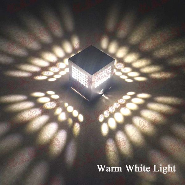 3W 따뜻한 흰색 빛