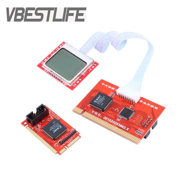 Test de carte Tablette PCI Carte mère Analyseur Testeur de diagnostic Test Carte de test pour PC Ordinateur portable Bureau PTI8