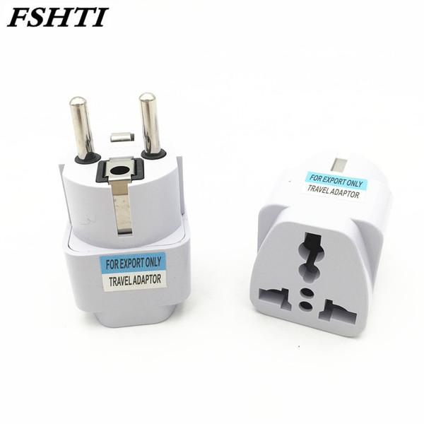Universal European KR EU Plug Adapter AU UK American US To EU KR Euro German Travel Adapter Electrical Plug Power Sockets Outlet