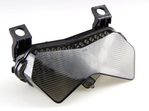 Fanale posteriore a LED per moto Smoke LED per Kawasaki ZX6R / 636 / 6RR 2003-2004 Z750 / Z1000 2004-2006