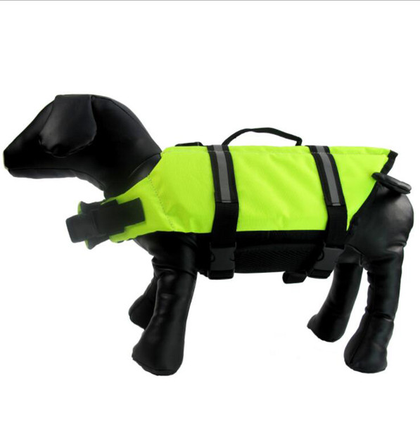 Pet Dog Life Jacket Clothes For Dogs Safety Clothes Life Vest Dog Supplies Summer Swimwear 0-50KG love it