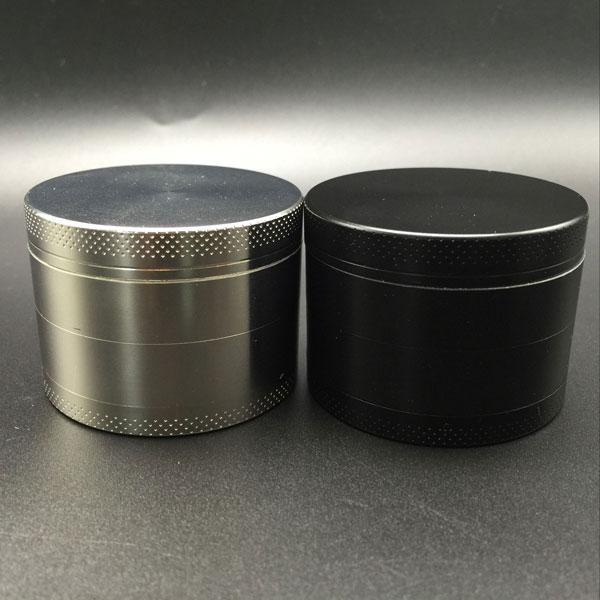 Grinders 55mm 4 layers grinders herb metal Zicn alloy for cnc teeth filter net dry herb vaporizer pen vaporizer vapor glass smoking pipes