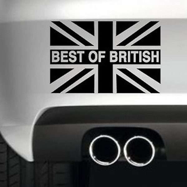 Meilleur de drapeau britannique autocollant de voiture drôle de dérive Jdm 4x4 vinyle Wall Art