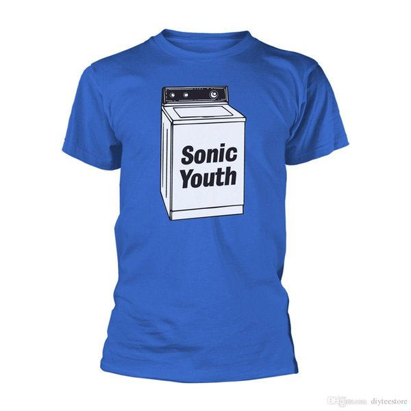 Sonic Youth Washing Machine Thurston Moore Official Tee T-Shirt Mens Unisex T-shirt Men Male Casual Custom Short Sleeve Valentine's Plu