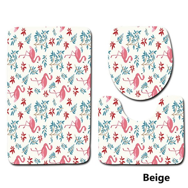 Surprising 2019 Flamingo Pattern Set Toilet Seat Cover Rugs U Shape Floral Bathroom Small Carpet Floor Feet Printed Bathmats From Shefuluoerly 15 08 Short Links Chair Design For Home Short Linksinfo