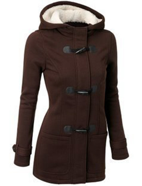 Fashion Hot Sale Women Jacket Clothes New Winter 7 Color Outerwear Coat Thick Girls Clothes Lady Clothing With Hooded top quality