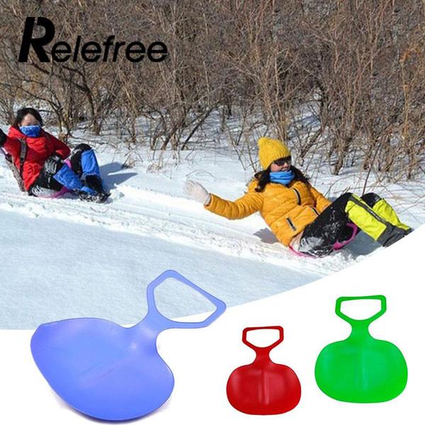 Miúdos dos esportes / trenó plástico da neve da placa de trenó da almofada do esqui da grama do inverno adulto