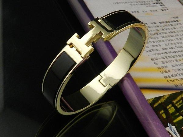 2019 Factory Price High Quality Celebrity Design Letter Gold Metal Belt Bracelet Fashion Letter Metal Buckle Bracelets With Box