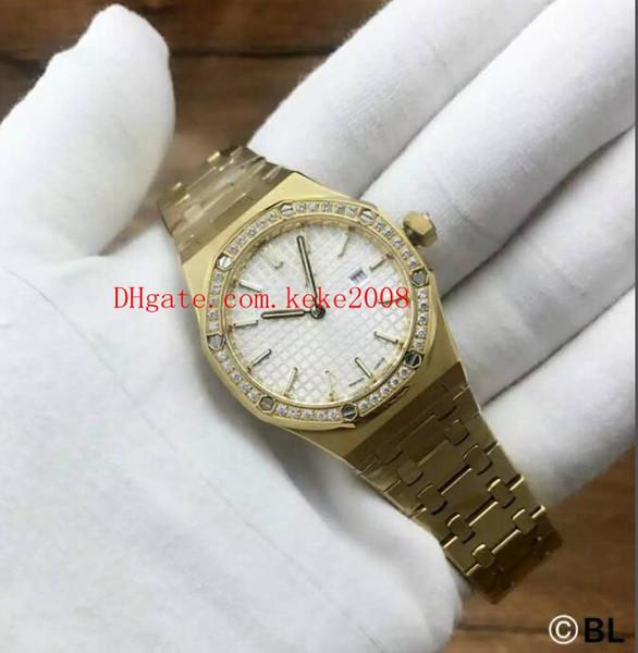 5 color Luxury Wristwatches N8 factory Oak Offshore 15400 33mm 67651BA.ZZ.1261BA.01 VK Quartz Chronograph Work Ladies Women's Watch Watches