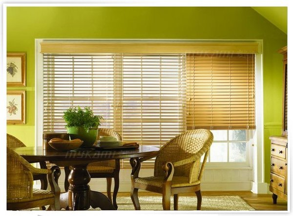 FREE SHIPPING WINDOW BLINDS REAL WOOD-- MADE TO MEASURE 5CM & 3.5CM WIDTH SLATS
