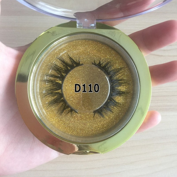 Real Mink Fake Lashes Handmade Natural 3D Mink Eyelashes Make Your Own Brand Custom Box Products FDshine