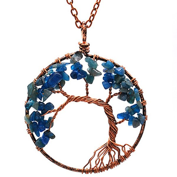 Blue Crystal chain