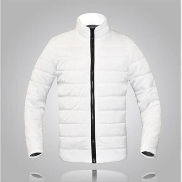 EINAUDI men winter jacket 2017 hot burst fashion solid color men clothing card jacket warm zipper winter ja