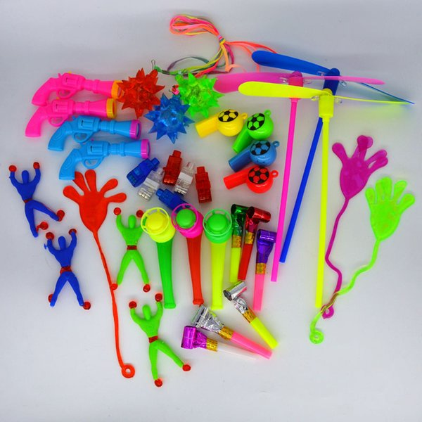 50PCS Toys For Kids Party Favors Supplies Girl Boy Birthday Gift Toy Bags Carnival Prizes Christmas