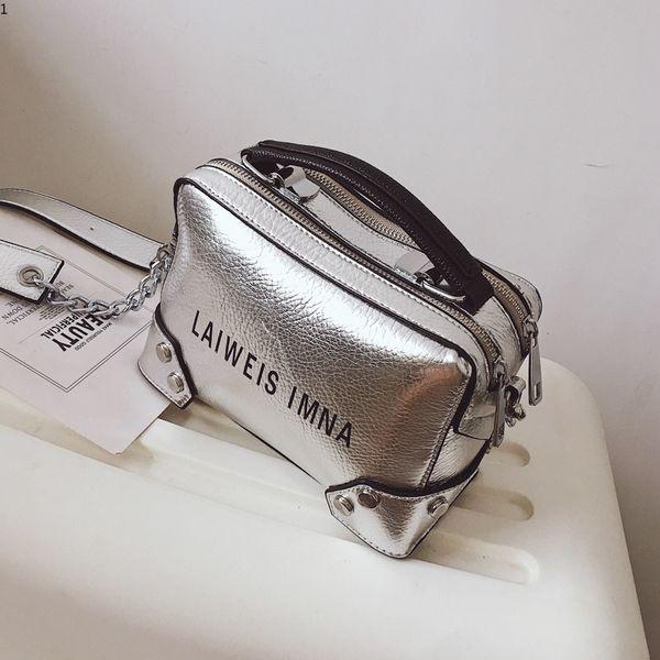 Ledertaschen für Frauen Mode Büro Dame Große Casual Handtasche Schwarz Splitter Luxus Design Mädchen Schulter Umhängetasche