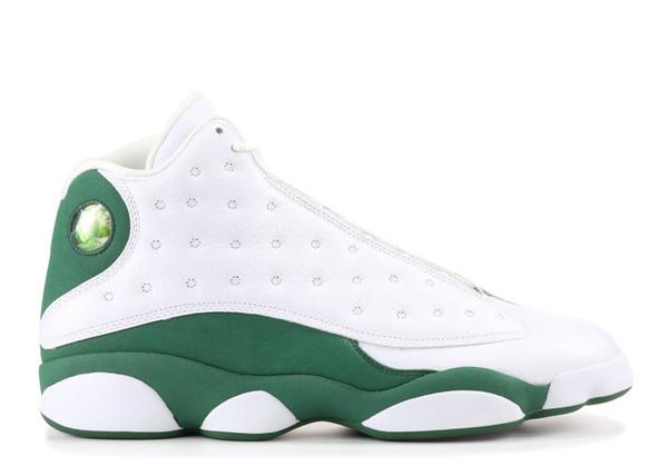 Erkekler için beyaz yeşil