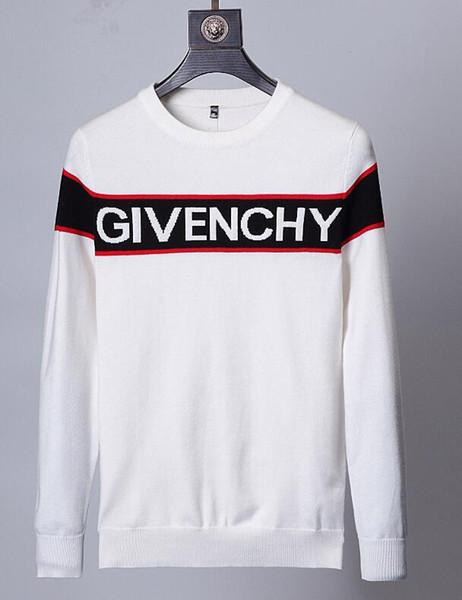 Le dernier pull 2019 laine hommes et femmes nouvelle automne et hiver casual épaisse chaude cachemire Givenchy manteau marques ensembles de manches longues