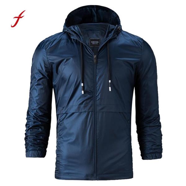 Masculina Lose Großhandel Kleidung Reine Jacken Mantel Winter Style Kapuze Feitong Farbe Casual Von Jaqueta 2018 Herren Männliche Herbst qGMpUzVS