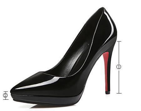 en venta f90b5 45920 Compre Envío Gratis Caliente Zapatos De Tacón Alto Zapatos De Tacón Fino  Moda Punta Fina Impermeable Zapatos De Mujer De La Tabla A $56.29 Del ...