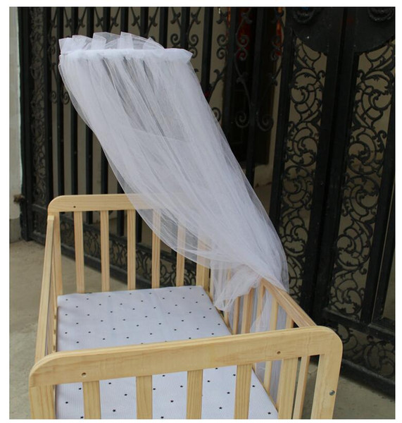 Fashion Quadrate Mosunx Business Hot Selling Baby Bed Mosquito Mesh Dome Curtain Net for Toddler Crib Cot Canopy