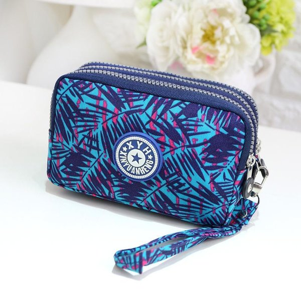 Fashion Clutch Bags Hand Wash Canvas Bag Purse Women Candy Colors Ladies Mini Bag Cell Phone Solid New Style Messenger Make Up Bags