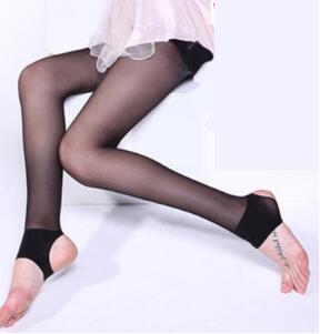 Foot Pants Black / Skin Lace Calze Calze sexy Ultrathin Core Filati Biancheria intima Calze Calze Calze Salute Bellezza Spedizione gratuita