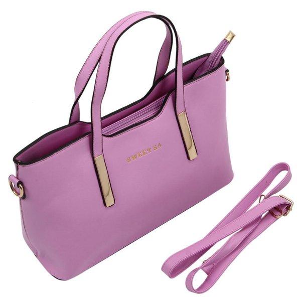 DCOS Fashion Female Package Elegant Women Handbag High Quality Leather Shoulder bag All-Match Messenger Bag Casual Tote