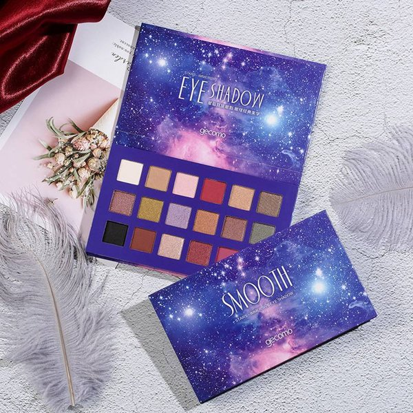 18 Colors Eyeshadow Teenage Style Warm Series Shimmer Pearlescent Eye Shadow Palette Charming Eyes Makeup Pressed Powder2018R7