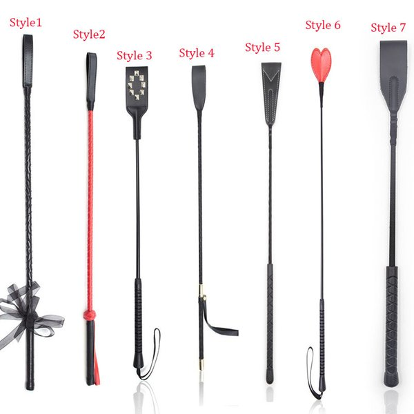 Hot Sale PU Leather Spanking Paddle Whip Set,Riding Crop Sexy Whip,Slave Flogger Spanker ,Adult Toys For Couple Flirt Toys