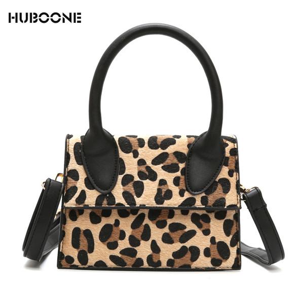 Famous Brand Women Handbag Fashion Leopard Print Small Flap Bags For Women 2018 Female Clutch Bag Shoulder Crossbody Bags Bolsa