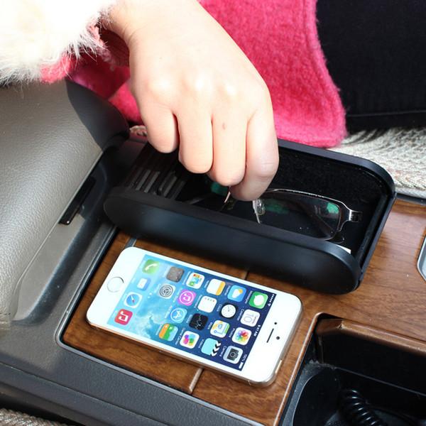 2018 Car Interior Accessories Storage Box With Sticker Trunk Bags Auto Car Storage Box Organizer Pockets Glove Glasses Box