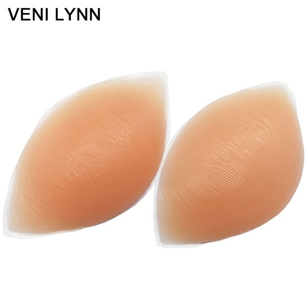VENI LYNN 180g/pair Silicone Bra Pads Skin Push Up Breast Enhancer Nude Bra Accessories For Bras Swimsuits and Bikinis