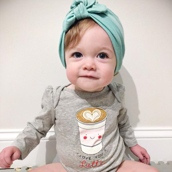 268308f8d BA001 New Europe US Baby Hats Bunny Ear Caps Turban Knot Head Wraps Infant  Kids India