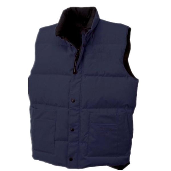Venta al por mayor a la moda juvenil Canadá Moda Abrigo de bolsillo Decoración para hombre Diseñador Abrigos de invierno Personalidad Abrigo de invierno para hombre con piel