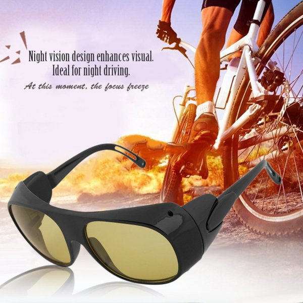 Unisex Motorcycle Bike glass Night Vision Driving Glasses Goggles Glasses Anti Wind Goggles Welding Mirror Anti Impact