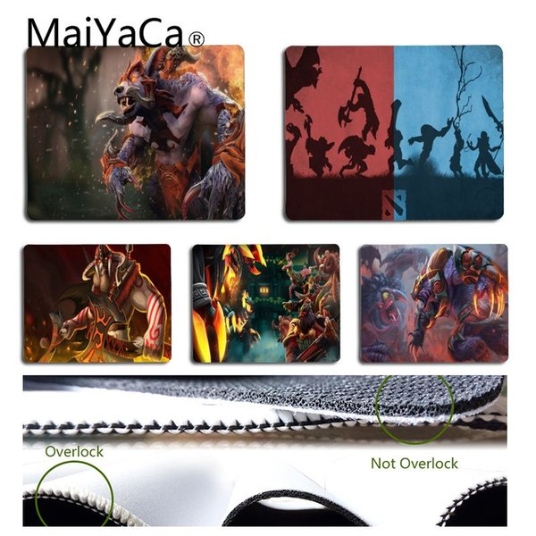MaiYaCa Top Quality Dota 2 Nevermore Keyboard Gaming MousePads Tappetino per mouse in gomma Mouse per tablet
