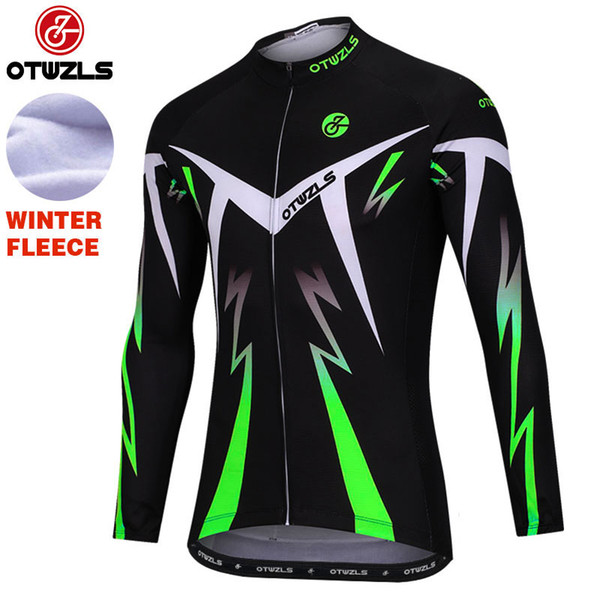 NEW cycling jerseys winter thermal fleece long sleeve men bicycle mtb bike  clothes cycling clothing sport a08e9400d