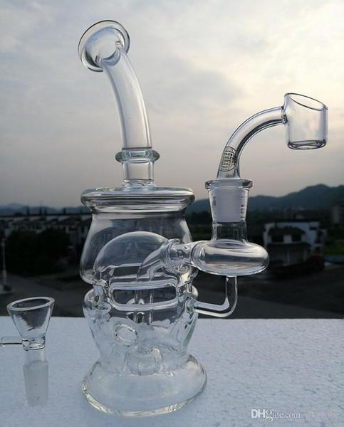 cheapest New Glass Bong Oil Rigs Glass Design Eggosphere combo of ball rig with quartz banger 14.4mm joint