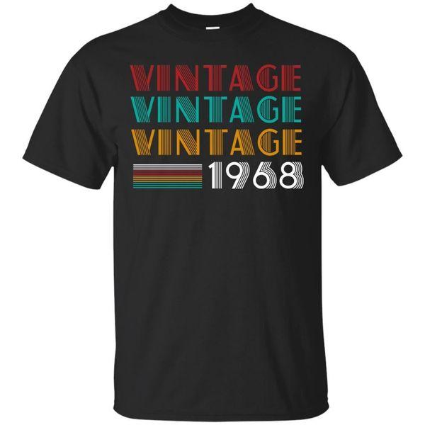 1775c5aefe40e Retro Vintage Clássico Nascido Em 1968-50th T-Shirt O Melhor Presente Para  50