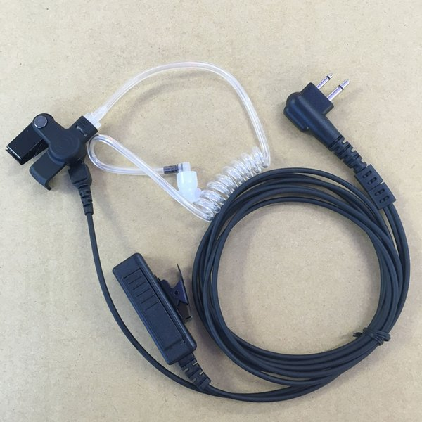 10x2pin Наушники Наблюдения Гарнитура Воздушный Акустический Микрофон PTT Для Motorola RDU4100 RDU-4100 RDU4160D RDU-4160D RDV2080D RDV-2080D