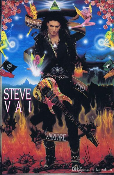 2019 Steve Vai Guitar Play Passion And Warfare High Quality Art Posters Print Photo Paper 16 24 36 47 Inches From Kapalian 964 Dhgatecom