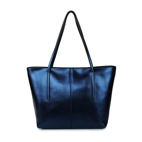 3 Days Shipping Time For Mother's Day Leather Bag Luminous Material Real LadiesLeather Bag Tote Style S145