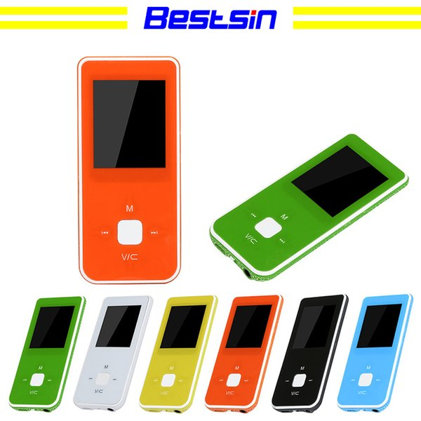 Bestsin Hot-venda de 1.8-polegadas TFT MP4 Player HD Vídeo MP4 LCD FM Radio Video Games Movie Suporte Micro SD TF