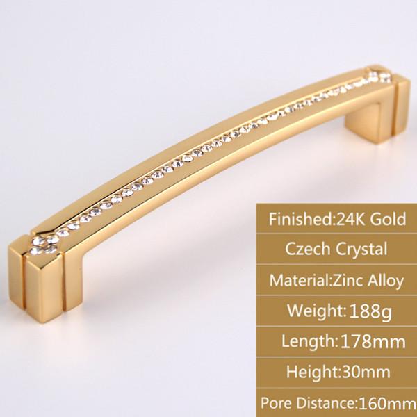 Ouro 24k de 178 mm