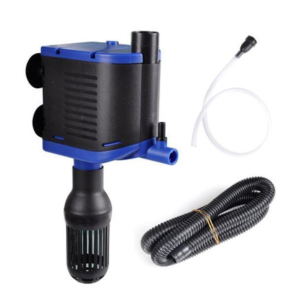 High Efficiency 8W Aquarium Water Pump Fish Tank Pond Pool Internal Filter Water Pump With 500L/H Flow Max