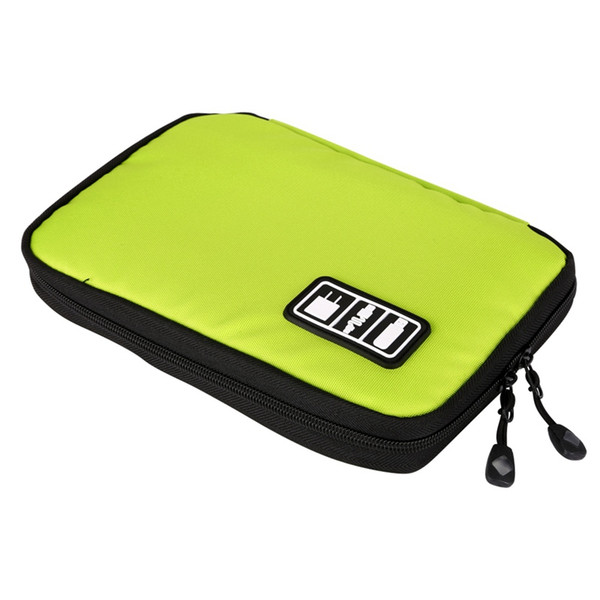 Home Organization Bags New Fashion Hard Drive Earphone Cables USB Flash Drives Storage Bag Travel Case Digital Storage Bag Portable