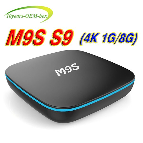 M9S S9 Amlogic RK3229 Quad-core Android 7.1 1GB 8GB Smart TV Box HDMI2.0 4Kx2K HD 2.4G Wifi Streaming Media Players