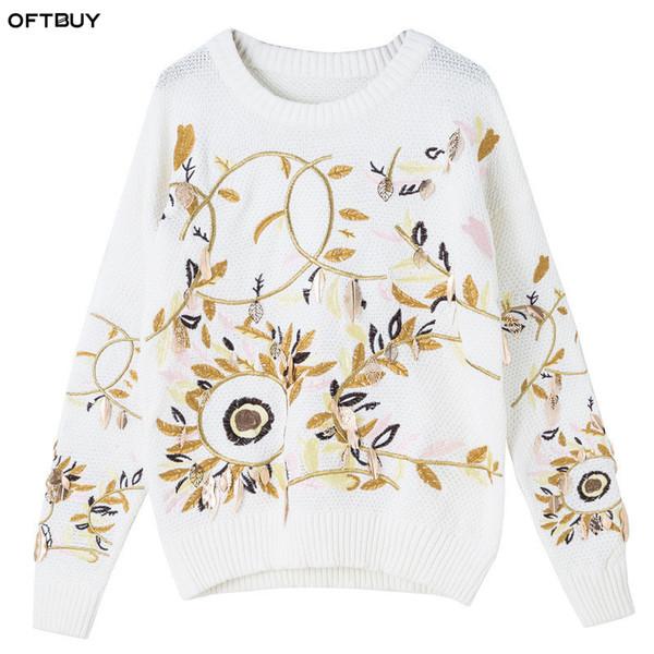 Compre OFTBUY 2018 Señoras De Primavera Bordado De Crochet De ...