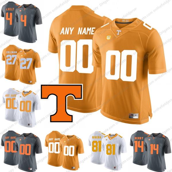 Benutzerdefinierte Tennessee Volunteers # 1 Jalen Hurd 4 John Kelly 11 Joshua Dobbs 16 Peyton Manning Beliebiger Name Anzahl College Football Trikots S-3XL